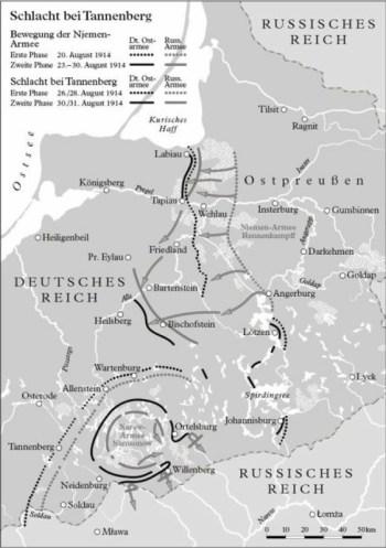 坦能堡战役1914年
