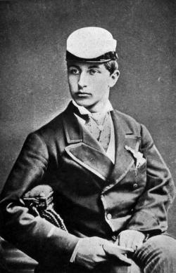 Guglielmo II. come studente a Bonn