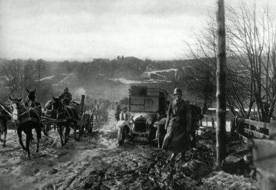 Die Ostsee-Division in Finnland, auf dem Vormarsch von Hangö nach Helsinki