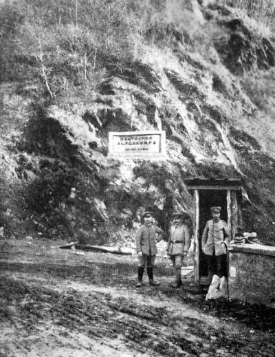 Roter Turm Pass des Alpen-Korps