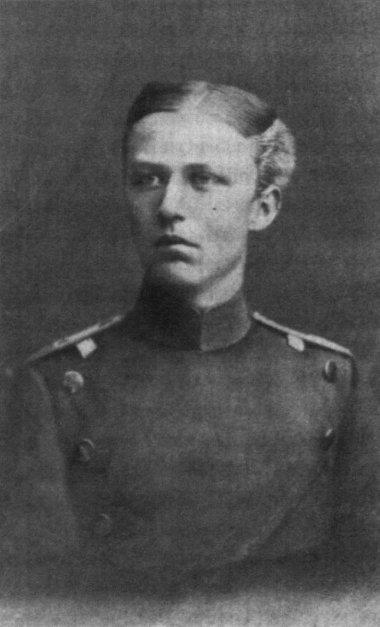 Il tenente Erich Ludendorff 1882 a Wesel