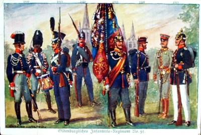 奥尔登堡步兵团第91号制服