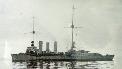 Маленький крейсер СМС еёльн