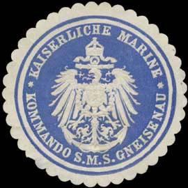 Seal brand of the SMS Gneisenau