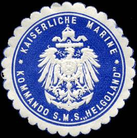 Seal of the SMS Helgoland