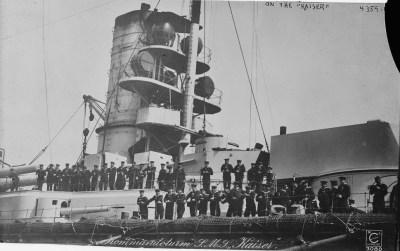 Torre di comando dell'SMS Kaiser