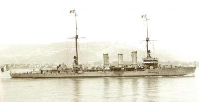 Small cruiser Metz
