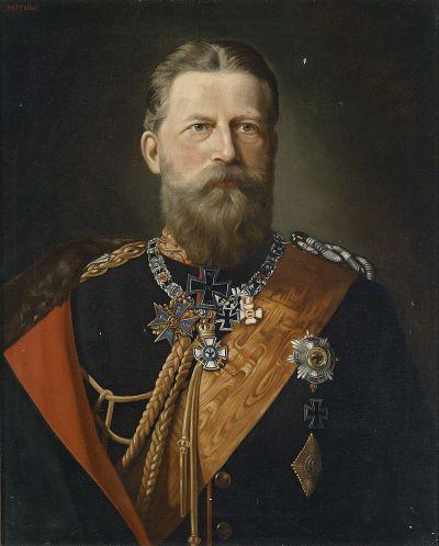 Le navire a été nommé d'après Friedrich Wilhelm Nikolaus Karl de Prusse, appelé Friedrich III.