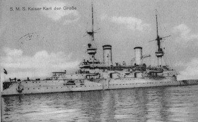 Рейсовое судно СМС императора Карла Великий