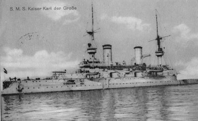Navi da battaglia SMS Kaiser Karl der Große