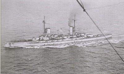 SMS Kaiser in Scapa Flow