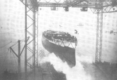 Launch of the SMS Kaiserin