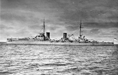 Big cruiser (battle cruiser) SMS Von der Tann
