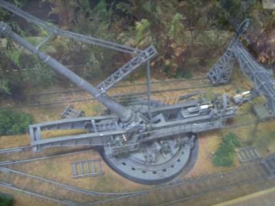 Modèle de la collection d'études techniques militaires à Coblence