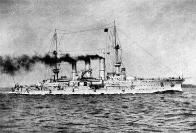 Большой крейсер СМС принц Адальберт