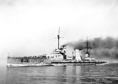 Big cruiser (battle cruiser) SMS Seydlitz