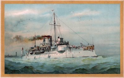 Coastal Defense Ship SMS Siegfried