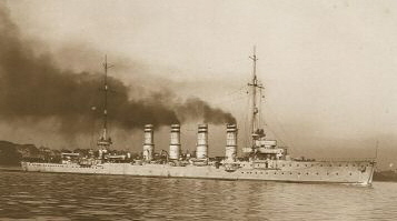Small cruiser SMS Stralsund
