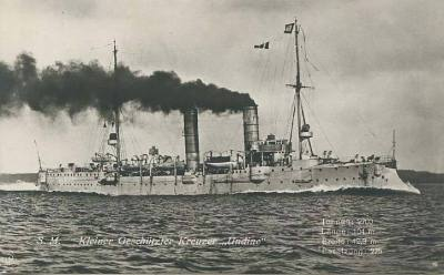 Small cruiser SMS Undine