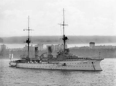 Big cruiser SMS Victoria Louise