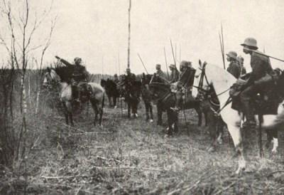 第一次世界大战中的德国骑兵