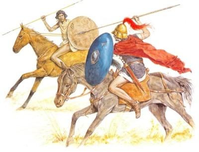 早期的罗马骑兵