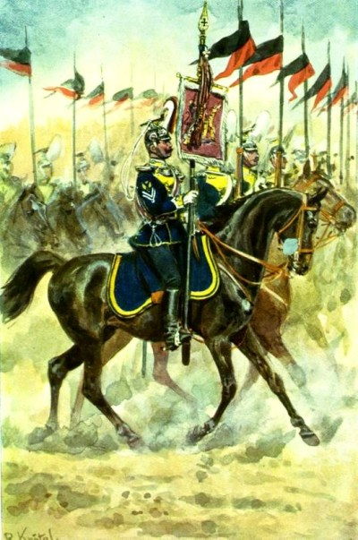 "Ulan regiment ""King William I."" (2nd Württemberg) No. 20"