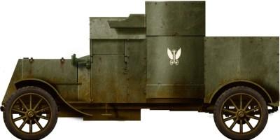 奥斯汀装甲车系列我