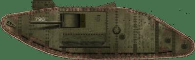 Британец Марк II Панцер Нуммер 790