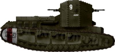 Un successivo Mark A con il numero A259 Caesar II