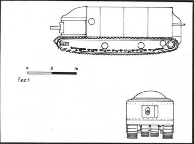 Флюинг Элефант танк