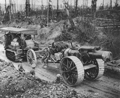 Таскаем нес артиллерийский трактор, Сомме в 1916