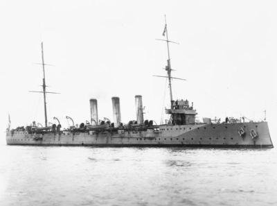 Защищенный крейсер ГМС аметист