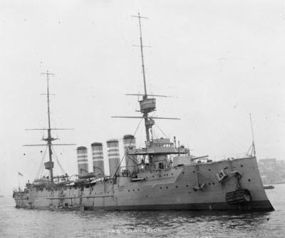 Nave da battaglia HMS Carnarvon