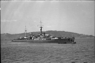 ГМС Кентурион как целевой корабль во время второй мировой войны