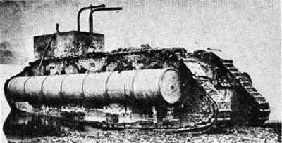 马克九号坦克鸭子