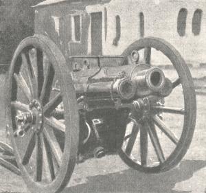 Pistolet de montagne QF 2,95 pouces