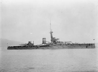 Cuirassé HMS Conqueror