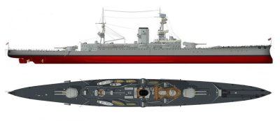 Большой Легкий крейсер ГиС Глориоус