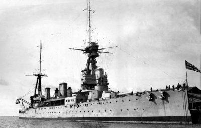 Incrociatore da battaglia HMS New Zealand