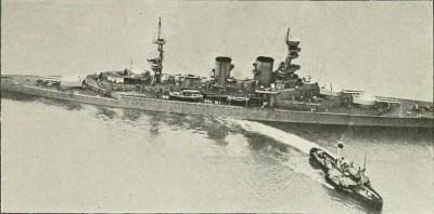 HMS Repulse nell'agosto 1918