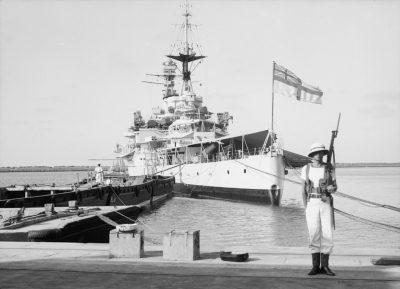 HMS Repulse nel luglio 1938