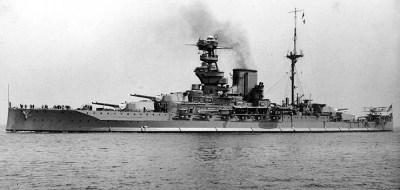 Cuirassé HMS Valiant