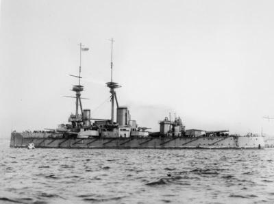 Corazzata HMS Vanguard