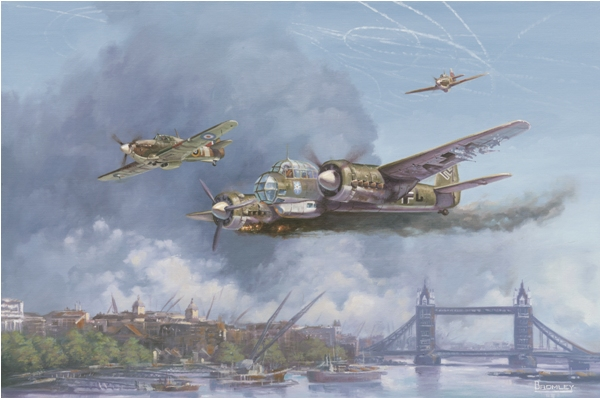 Battle of Britain - by Mark Bromley