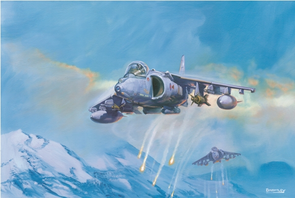 Harrier GR9 over Norway - Military Times - Mark Bromley