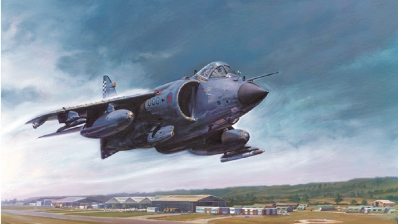 Exclusive Harrier image gallery by Mark Bromley – Military