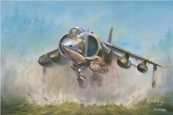 Harrier GR1 - Military Times - Mark Bromley