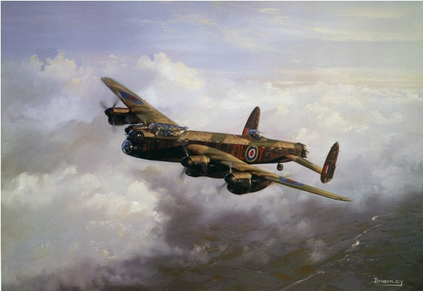 Lancaster in the clouds