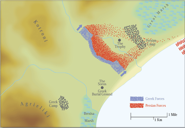 The Battle of Marathon- 490 BC